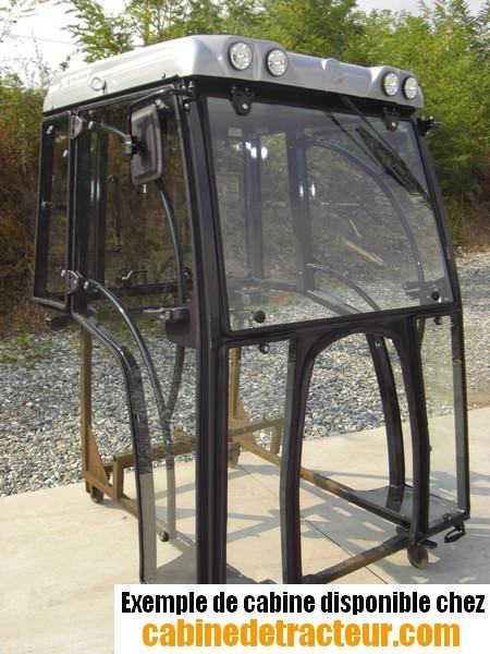 Cabine de tracteur pour same for Plans de cabine gratuits