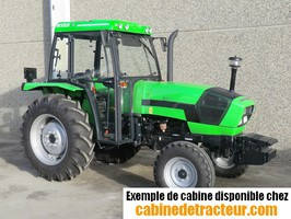 Cabine pour tracteur agricole de marque Deutz