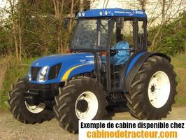 Cabine pour tracteur agricole de marque New Holland