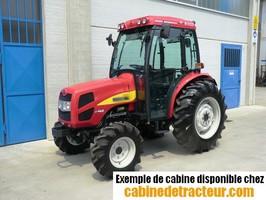 Cabine pour tracteur agricole de marque Shibaura