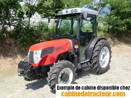 Cabine pour tracteur agricole de marque Valtra