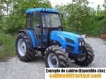 Cabine de tracteur Landini technofarm 75