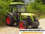 Cabne de tracteur Claas Nectis