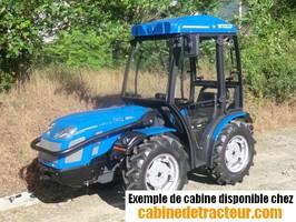 Cabine pour tracteur agricole de marque BCS