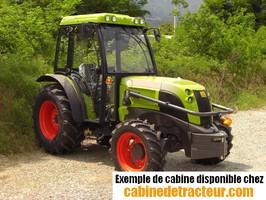 Cabine pour tracteur agricole de marque Claas