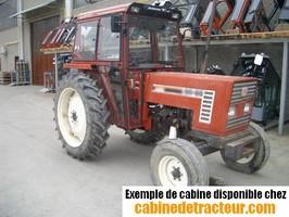 Cabine pour tracteur agricole de marque Fiat
