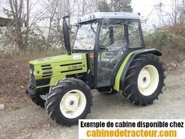 Cabine pour tracteur agricole de marque Hurlimann
