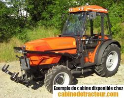 Cabine pour tracteur agricole de marque Same