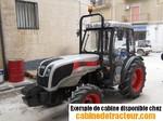 Cabine de tracteur carraro agricube